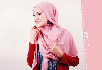 Cara Memakai Jilbab Segi Empat Modern - Tampil Modis dan Cantik