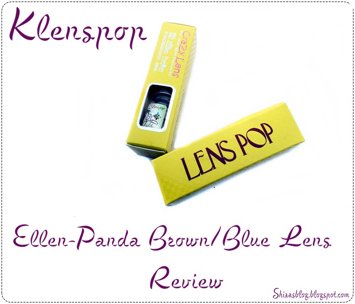 c8ae0937831 Hi my loves hope you are doing great.Today i am here to review two lens  pairs from one of my most favorite lens brand Klesnpop.I am using their  lenses for a ...
