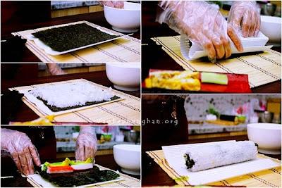 Cách làm sushi đơn giản tại nhà 5