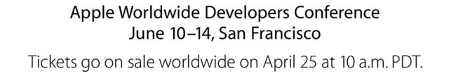 Apple WWDC 2013 date