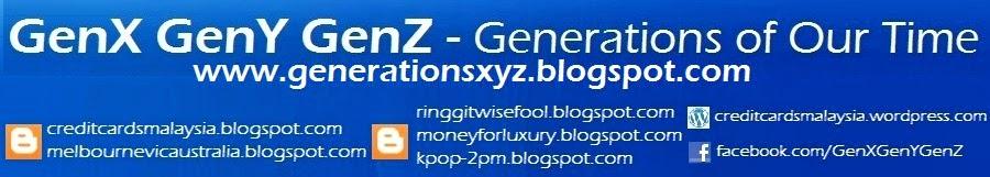 GenX GenY GenZ