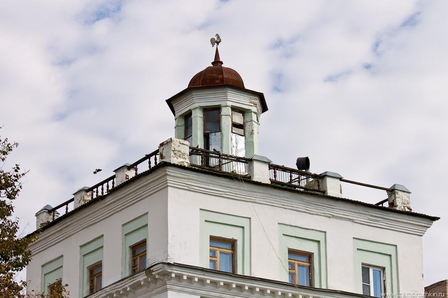 Дом с башенкой. Ул. Советская, 63