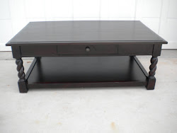 solid wood coffee table...SOLD