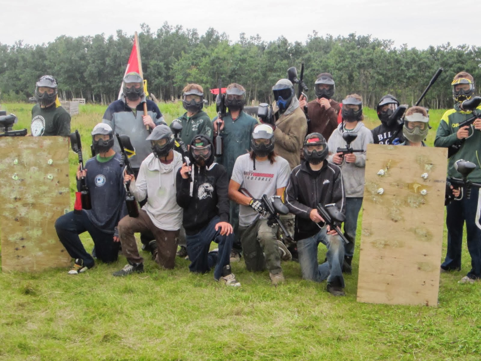 Paintball...