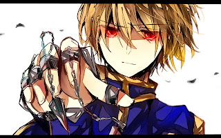Kurapika Scarlet Eye Hunter X Hunter 2011 Chain Blonde Hair Anime HD Wallpaper Desktop PC Background 1870
