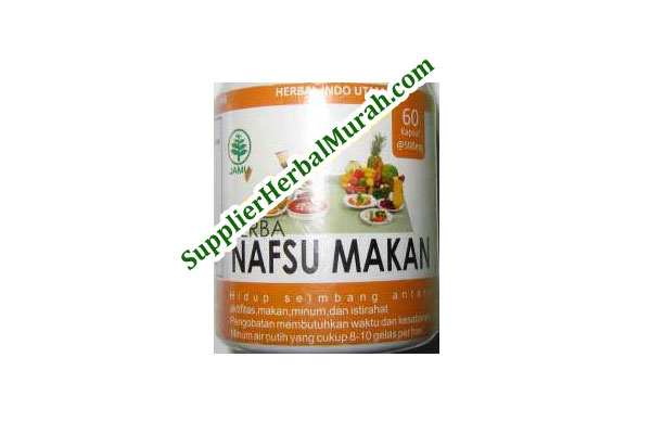 Nafsu Makan Herbal Indo Utama