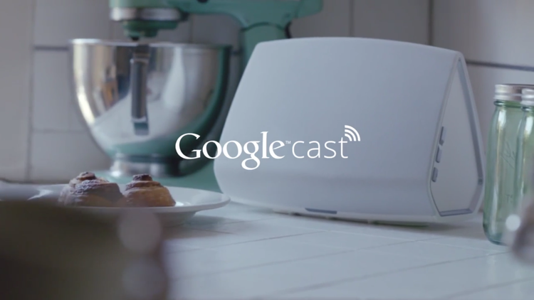 Google Cast for Audio to send music directly to Internet Connected Speakers