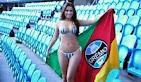 Grêmio - Campeã do Belas da torcida 2013 Charlene Macedo