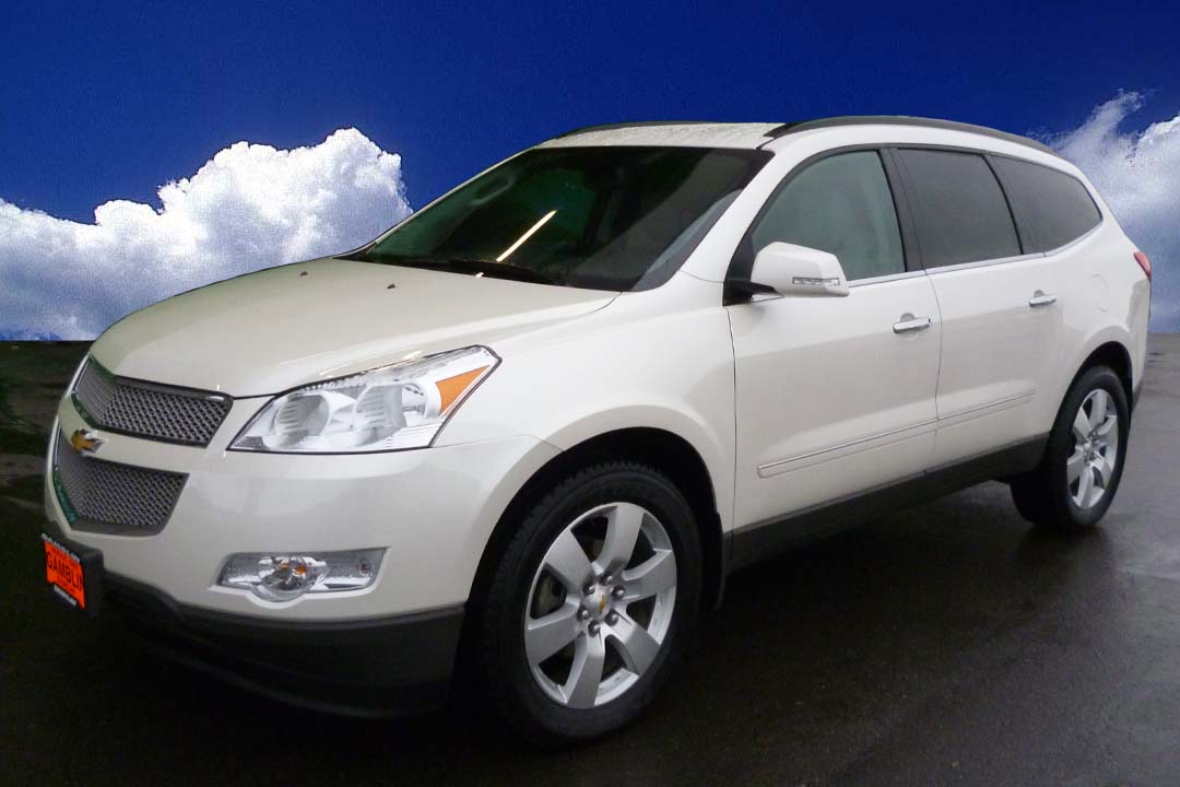 gamblin motors 2012 chevrolet traverse ltz white. Cars Review. Best American Auto & Cars Review