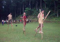 SOSIALISASI OLAHRAGA TRADISIONAL 2012