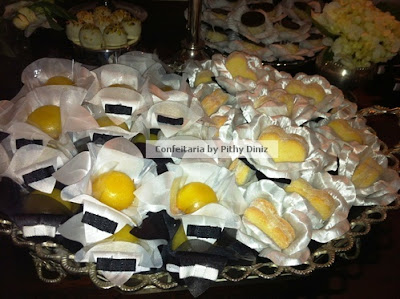 pb2 Festa Black & White + Mesa de doces Confeitaria