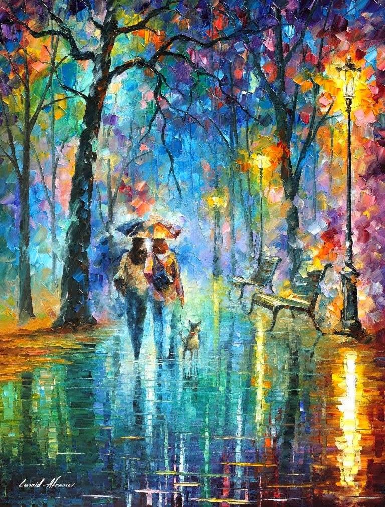 Cuadros modernos pinturas y dibujos paisajes pintados for Cuadros pintados al oleo