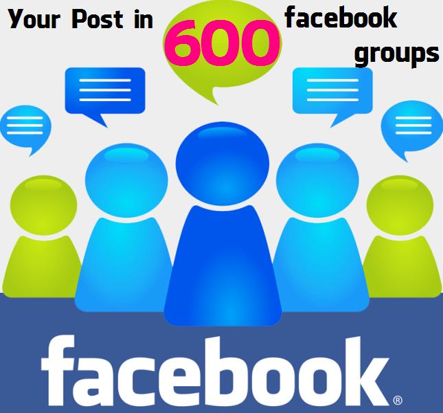 Post in 600 Facebook Groups