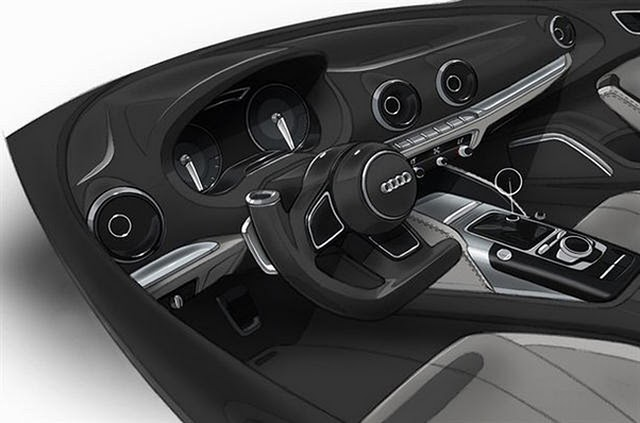 2013 Audi A3 e-tron Version interior