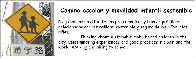 Camino escolar y movilidad infantil sostenible