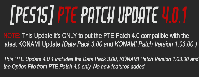 PTE 2015 Patch 4.0.1