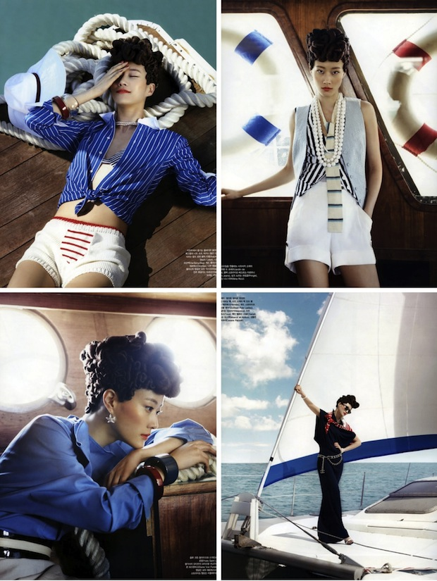 nautical fashion photography