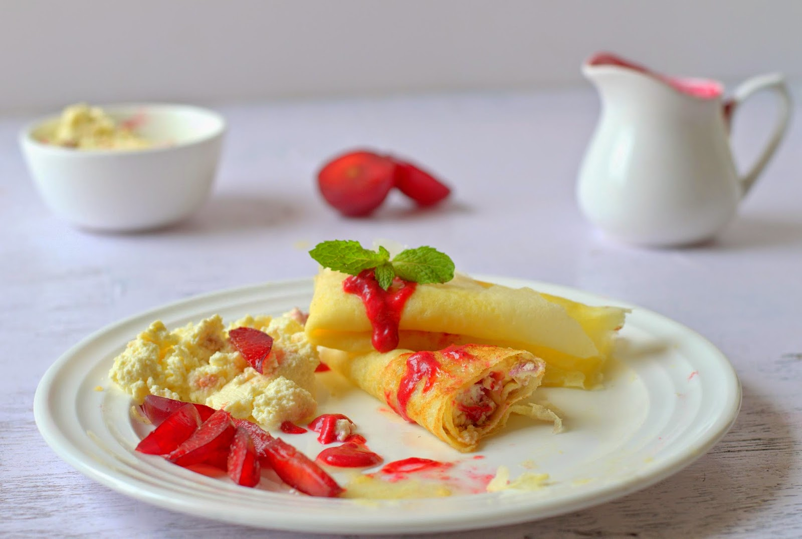 yummly sugar plum crepes with ricotta and honey ricotta and honey tart ...