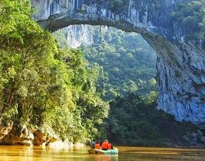 Jembatan Alami Terpanjang Di dunia