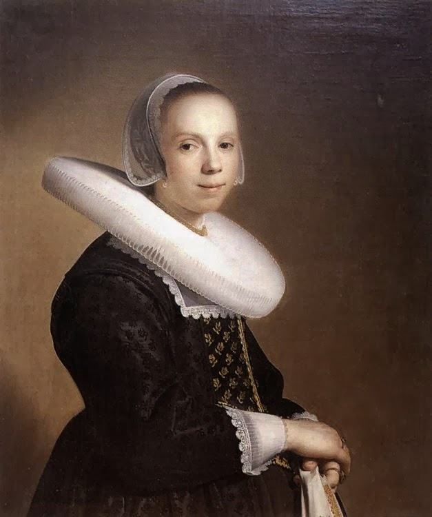 Painting Verspronck, Bride 1640