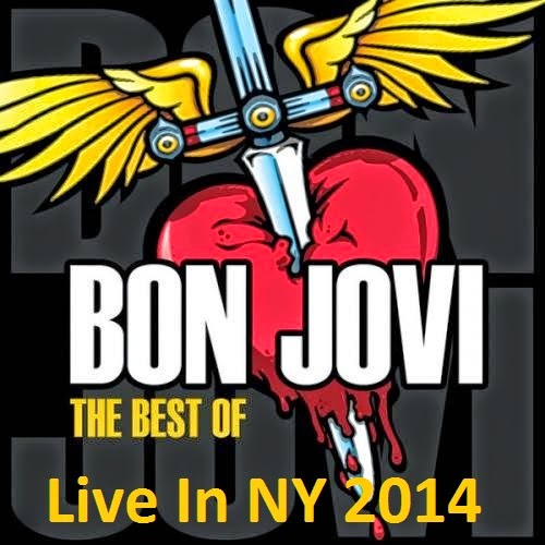 The Best Of Bon Jovi - Live In NY CD Capa