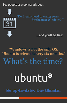 ubuntu lebih up to date ketimbang Windows