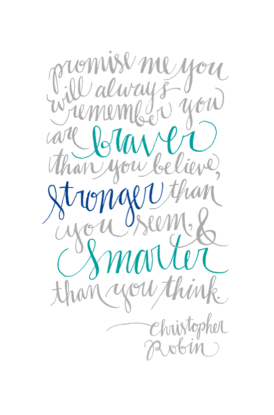 Christopher Robin Stronger than You Think