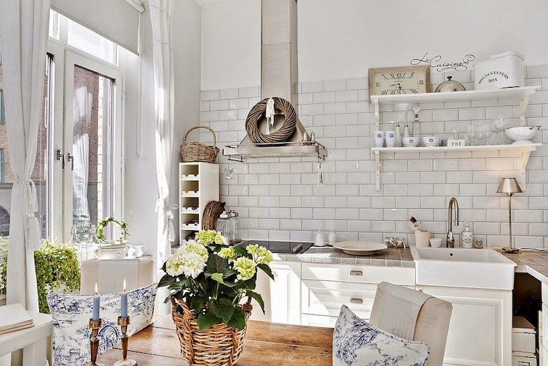 Ispirazioni Cucina { Home Tour!! } - shabby&countrylife.blogspot.it