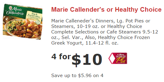 picture about Marie Callender Coupons Printable identify Serious Couponing Mommy: Low-cost Marie Callenders Frozen