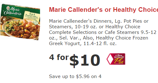 Marie callender's coupons for thanksgiving