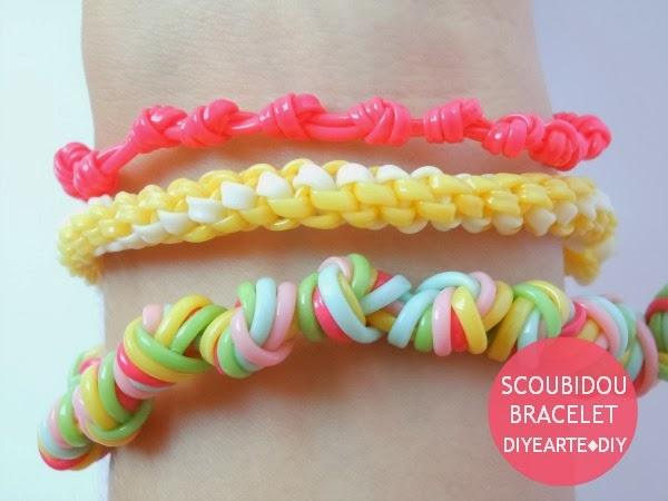 scoubidou-bracelet-diy-diyearte-pulsera-escubi-scooby-handmade-jewelry