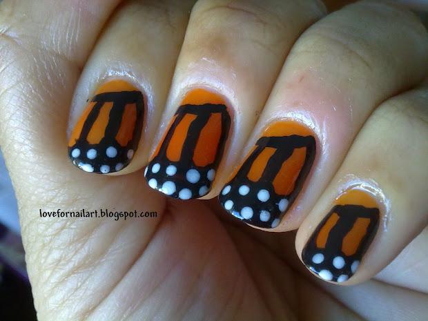 love nail art msmd monarch