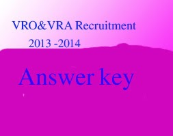 AP VRO AND VRA ANSWER KEY 2014
