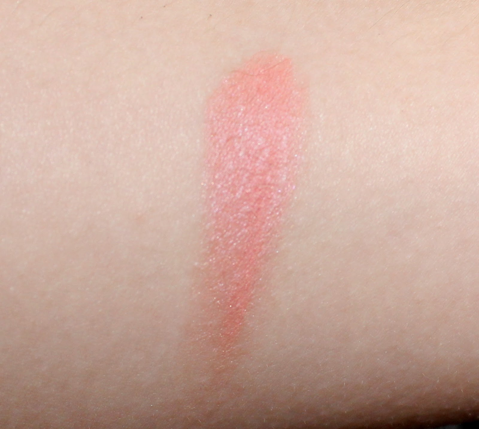 essence silky touch blush in 50 sweetheart swatch