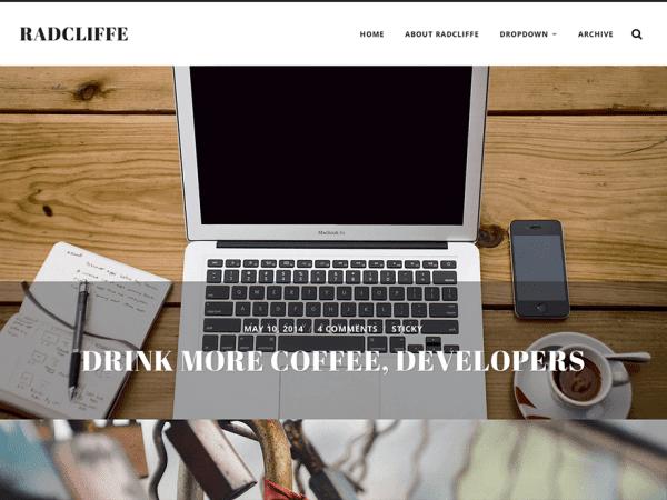 Radcliffe WordPress Theme