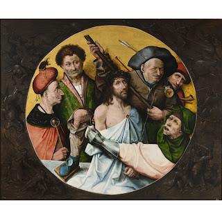 Cristo coronado de espinas primer cuarto del s. XVI, El Bosco.