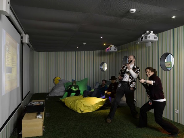 google office fun room