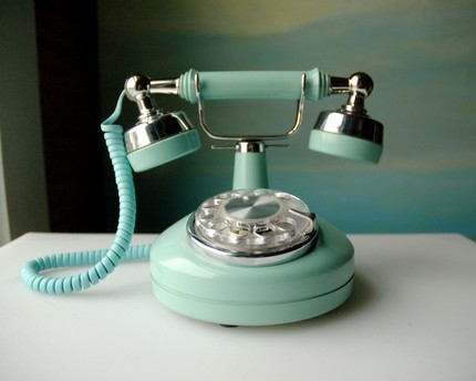 pastel colors, mint,pink,baby pink,baby blue,pastels,vintage phone,pastel phone