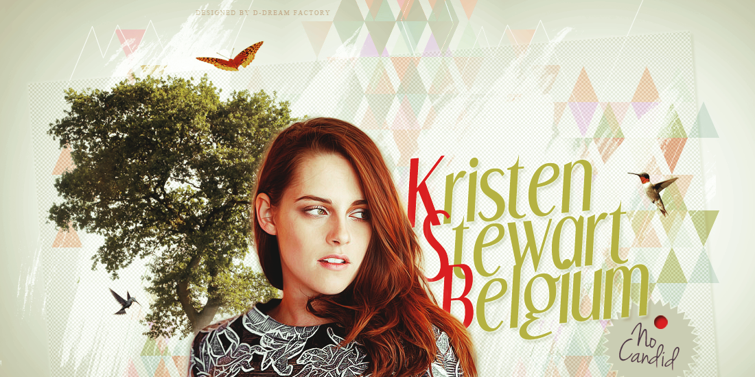 Kristen Stewart Belgium