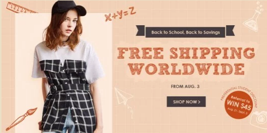 Back To School Zaful