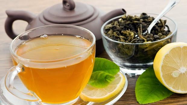 الشاي الاخضر, الليمون, حرق الدهون, صحة, الطب البديل,