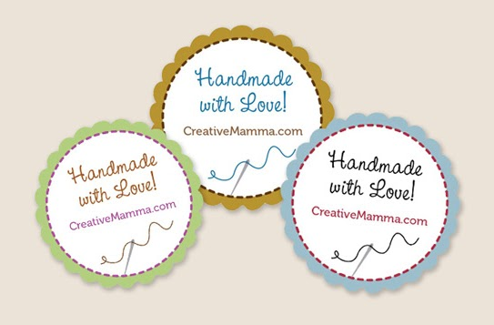 Auntie lolo crafts free prints wednesday for Custom tags for crafts