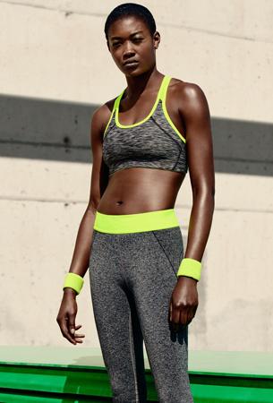 ropa deportiva mujer de H&M primavera verano