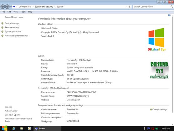 Windows 9 Professional