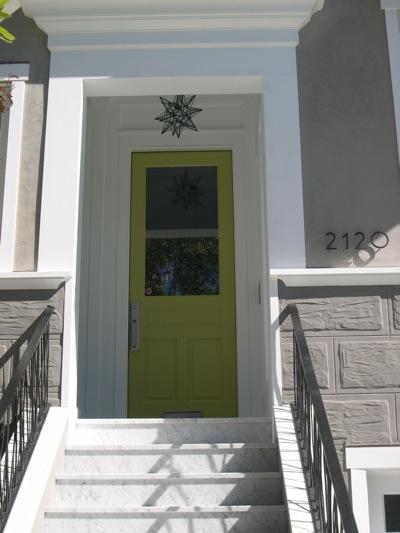 Building Green In Vermont Front Door Color