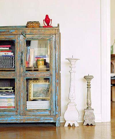 Decorando y renovando el encanto de lo desvencijado - Muebles decapados ...