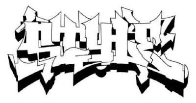Graffiti Wildstyle Alphabets Sketches 1