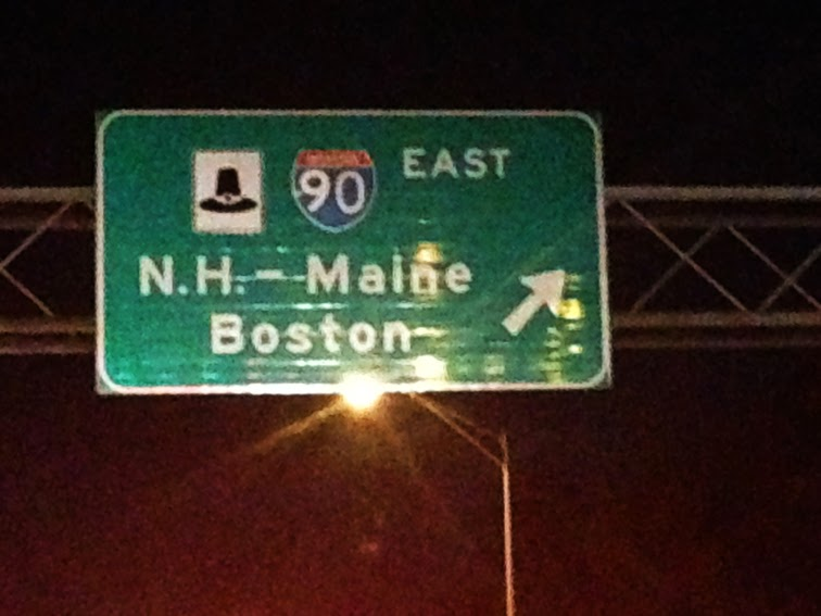 New England road signs