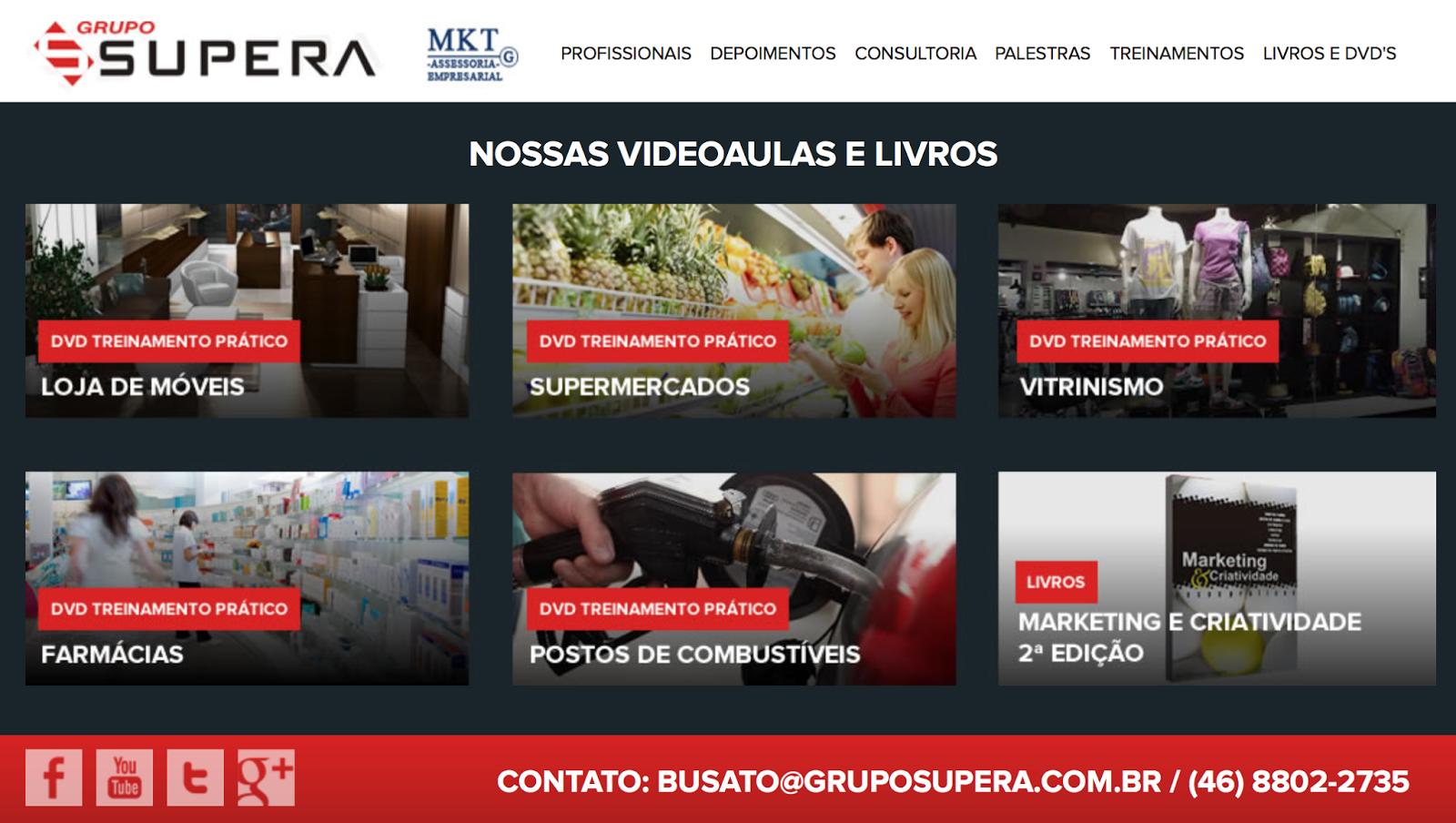 grupo supera, lorenzo busato, palestrante vendas, treinamento de frentista, consultoria para postos, consultoria para supermercados