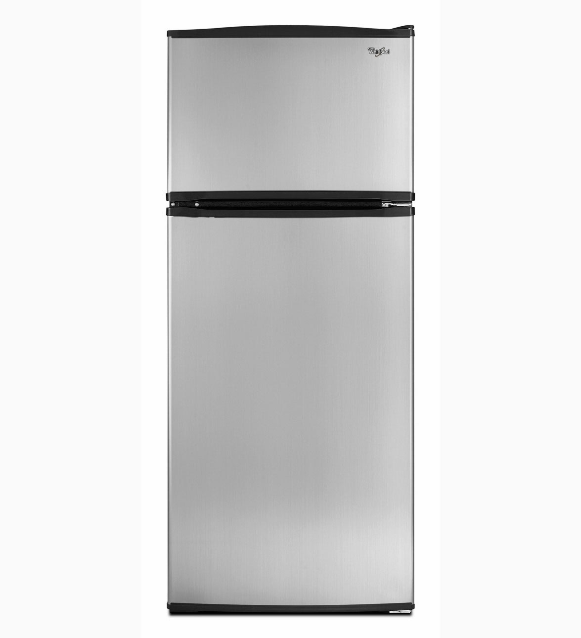whirlpool refrigerator brand stainless steel top freezer. Black Bedroom Furniture Sets. Home Design Ideas